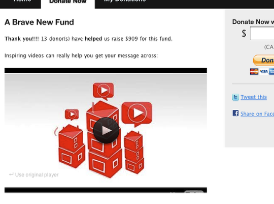 Customizing Donor Tools Fundraising Pages 5
