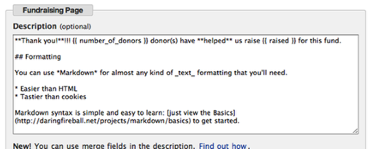 Customizing Donor Tools Fundraising Pages 8